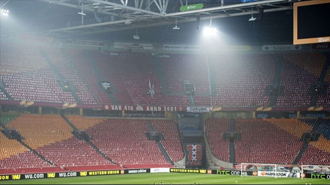 Amsterdam Arena kapalı gişe olacak