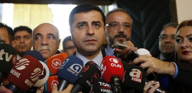 Demirtaş'tan Akdoğan'ın sözlerine yanıt