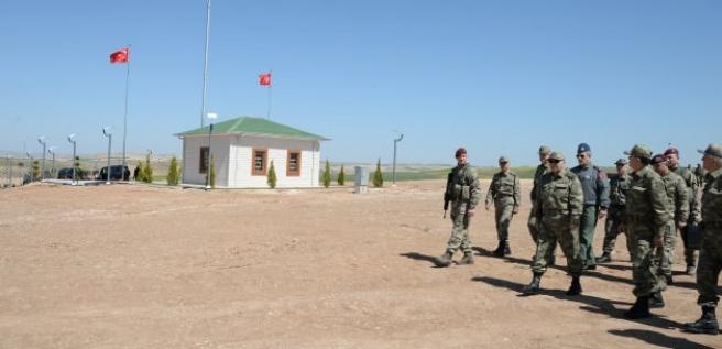 Necdet Özel 'Süleyman Şah'ı ziyaret etti