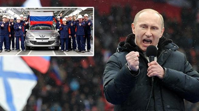 Peugeot, Citroen ve Mitsubishi, Rusya Üretimini Durdurdu