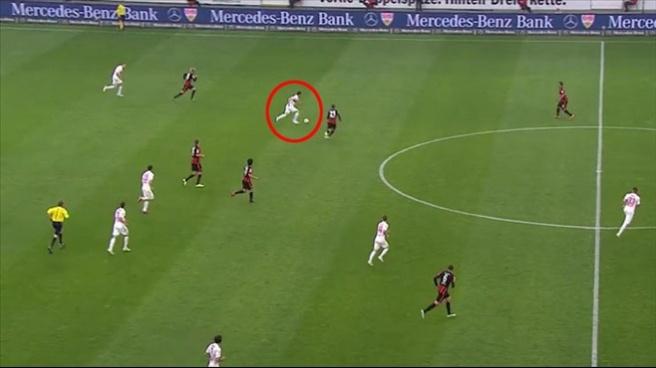 Almanya'da Bale'e taş çıkaran asist