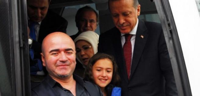 Erdoğan'ı mutlu eden sürpriz
