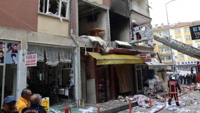 Ankara, Polatlı'da Doğalgaz Patlaması: 5 Yaralı