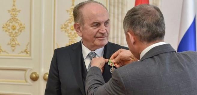 Tataristan'dan Kadir Topbaş'a devlet madalyası