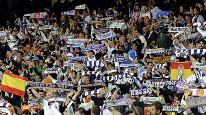Real Madrid taraftarlarına kulüpten men