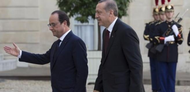 Erdoğan'dan Hollande'ye taziye telefonu