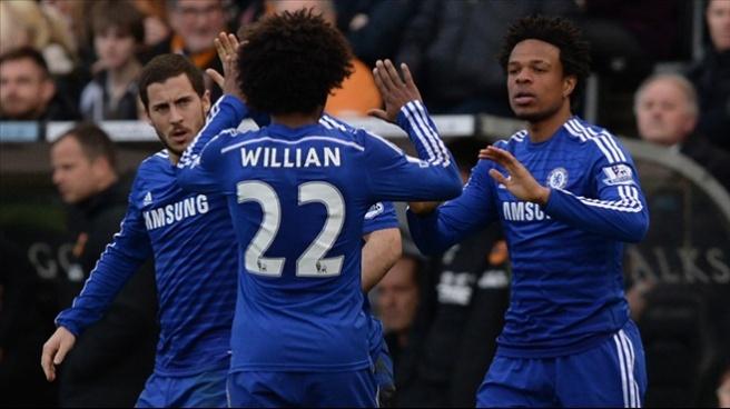 Hull City 2-3 Chelsea