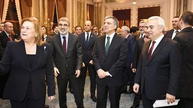 Abdullah Gül, İş Dünyasının Önemli İsimleri ile Buluştu