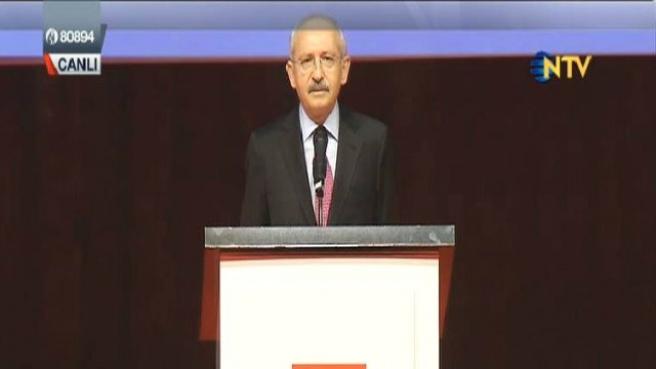 CHP genel başkanı Kemal Kılıçdaroğlu Gözyaşlarına Zor Hakim Oldu