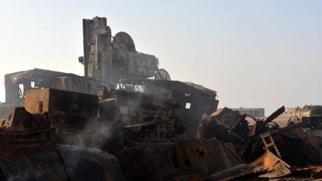 Yemen'de Orduya Ait Silah Deposunda Patlama