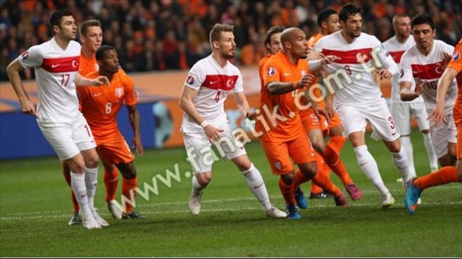 Hollanda 1-1 Türkiye
