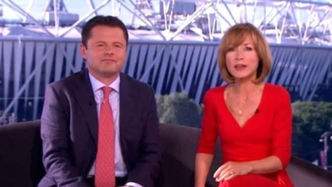 BBC Sunucusu Canlı Yayında Fena Frikik verdi!