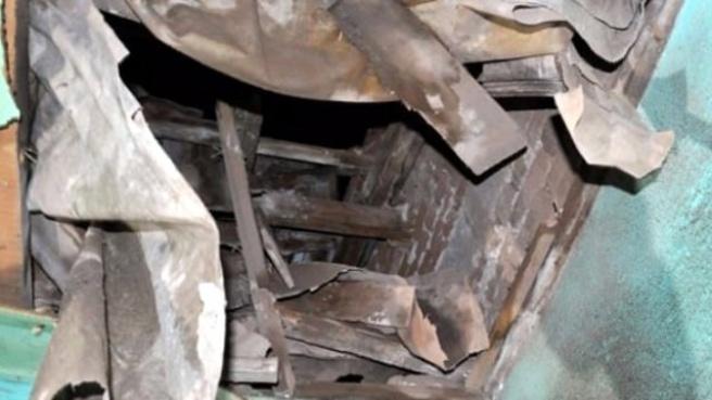 Elektrikli Şofben Patladı, 500 Metre Uzaktaki Evin Duvarını Deldi