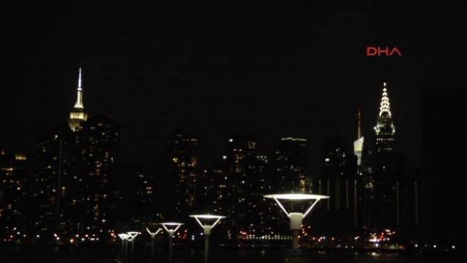 New York, 1 Saat Karanlığa Gömüldü