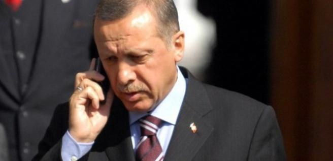 Erdoğan'dan Gauck'a telefon!