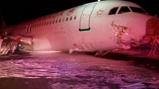 Air Canada Uçağı Tehlike Atlattı