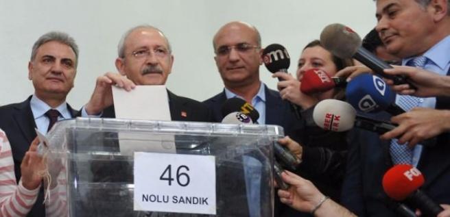 CHP'de ön seçim sonuçları belli oluyor