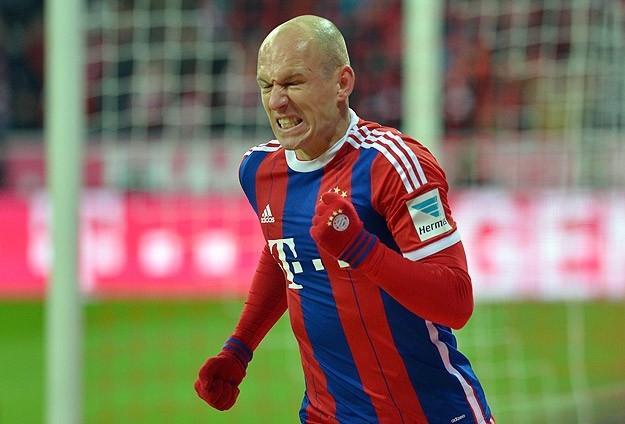 Bayern'e Robben Şoku