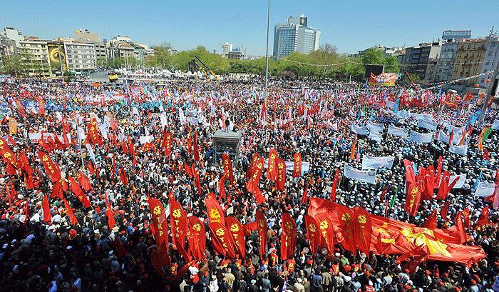 İstanbul'da 1 Mayıs Alarmı