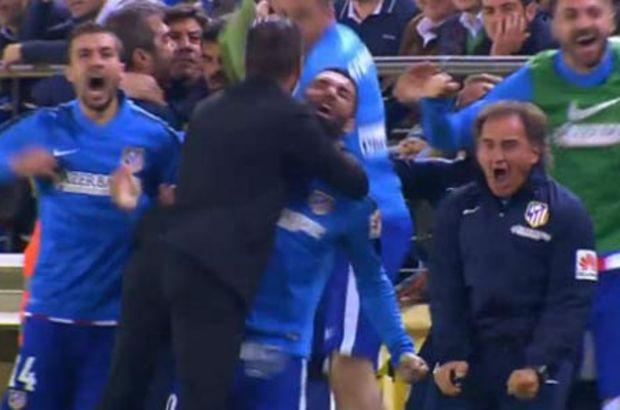 Simeone Çıldırdı Arda'ya Sarıldı (Video)