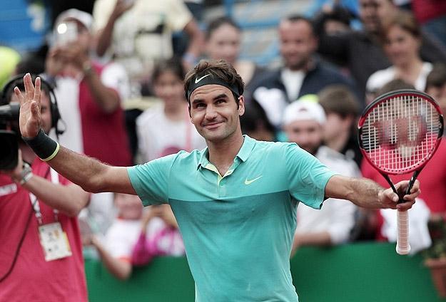 İstanbul Open'da Zafer Federer'in
