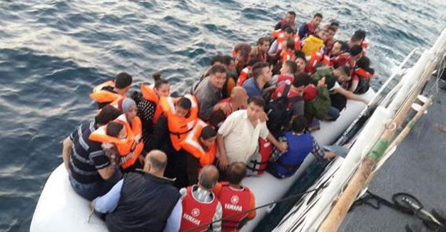 5 günde 1083 kaçak yakalandı!