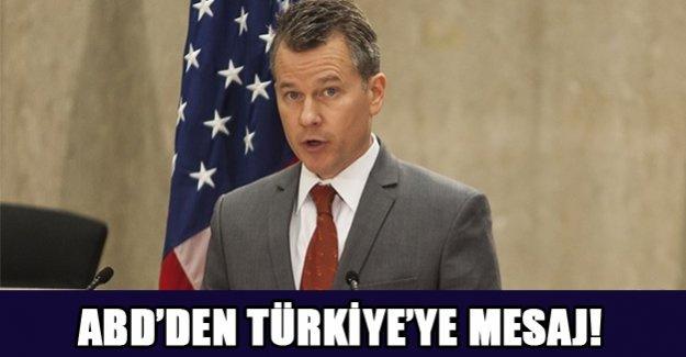 ABD'den Türkiye'ye mesaj!