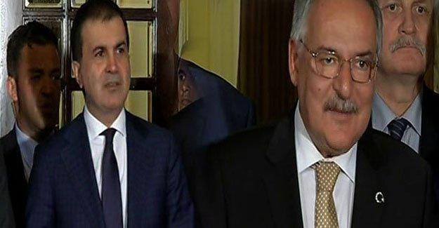 Ak Parti - CHP görüşmesinin ardından önemli açıklamalar!