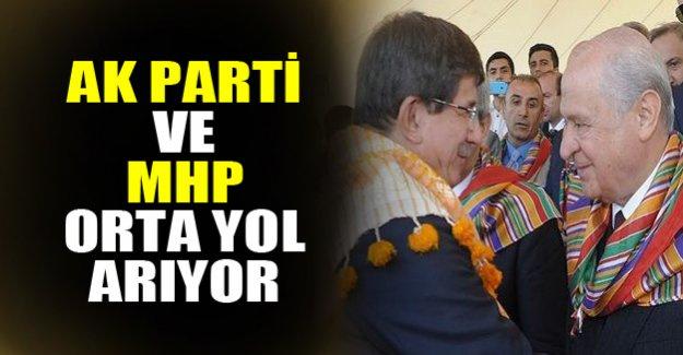 AK Parti MHP koalisyonunda orta yol arayışı!