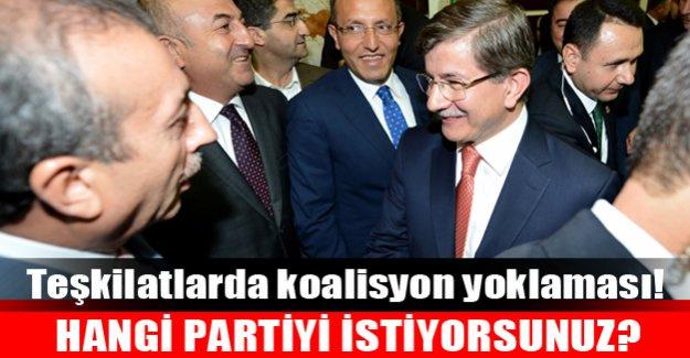 Ak Parti tabanı koalisyonda kimi istiyor?