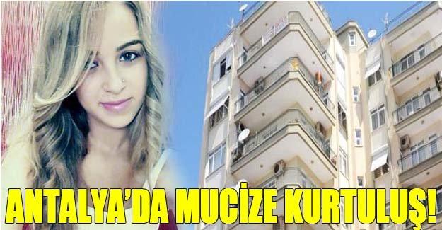 Antalya'da mucize kurtuluş!