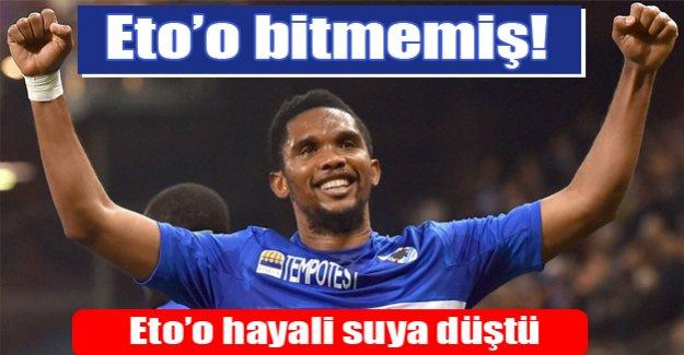 Antalyaspor Eto'o transferini bitiremedi!
