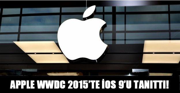 Apple WWDC 2015'te İOS 9'u tanıttı!
