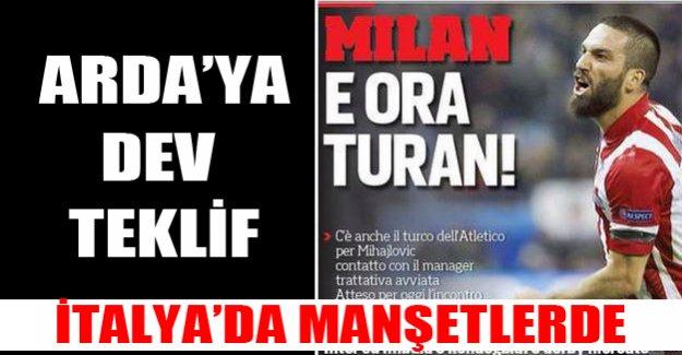 Arda'ya İtalyan devi talip oldu!