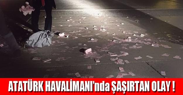 Atatürk Havalimanı'nda şaşırtan olay!