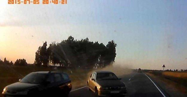 Belarus Devlet Başkanının aracı kaza yaptı