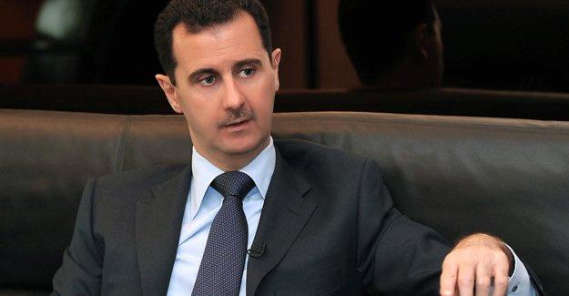 Beşar Esad itiraf etti