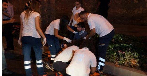 Beşiktaş'ta feci kaza!