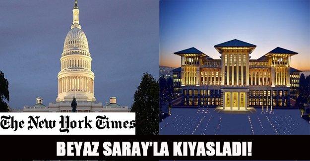 Beyaz Saray'la kıyasladı!
