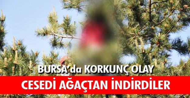Bursa'da Korkunç olay