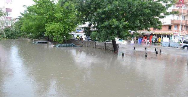 Çerkezköy sular altında kaldı!