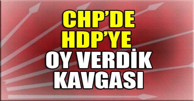 CHP'de HDP'ye oy verdik kavgası!