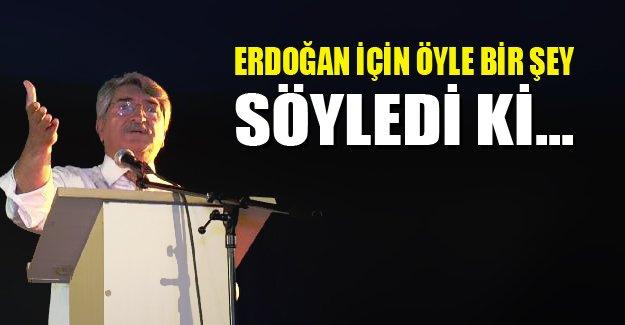 CHP Milletvekili Fikri Sağlar'dan Erdoğan'a sert sözler!