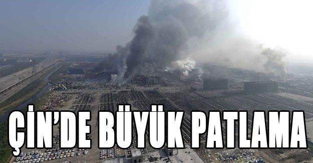 Çin'de büyük patlama!