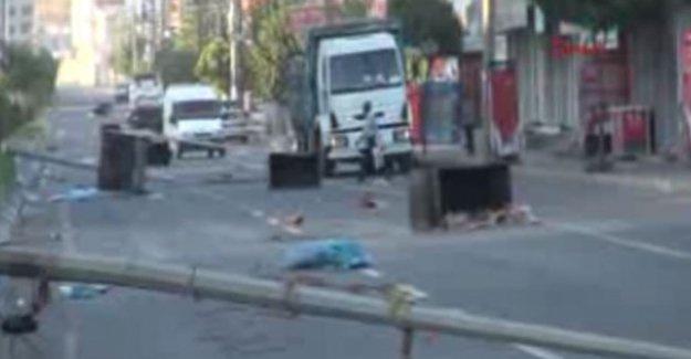 Cizre'de 1 polis şehit oldu!
