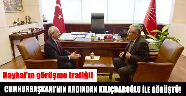Cumhurbaşkanı'nın ardından Kılıçdaroğlu ile görüştü!