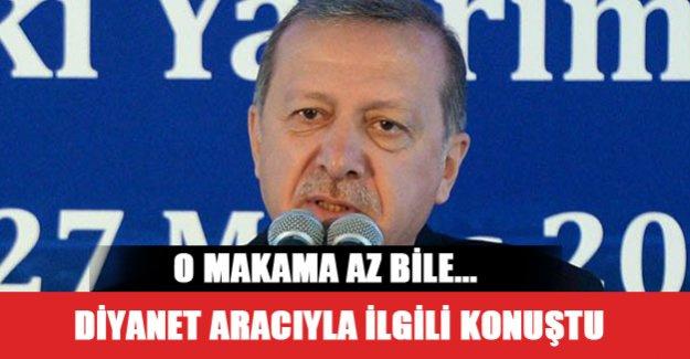 Cumhurbaşkanı Uşak'ta konuştu