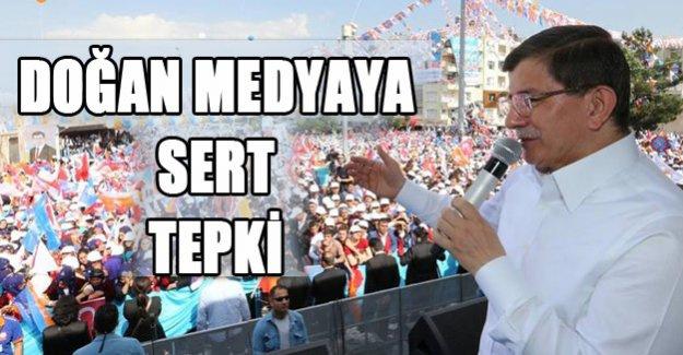 Davutoğlu'dan Doğan Medyaya Sert Tepki