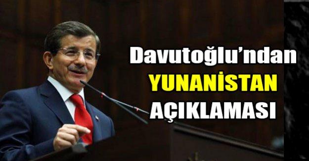 Davutoğlu partisinin grup toplantısında konuştu