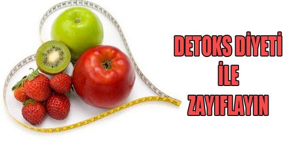 Detoks diyeti ile zayıflayıp güzelleşin